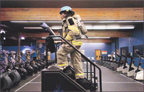 2006 Colorado Springs Gazette article about Firefighter Juliet Draper world record Sub 2 minutes combat challenge run